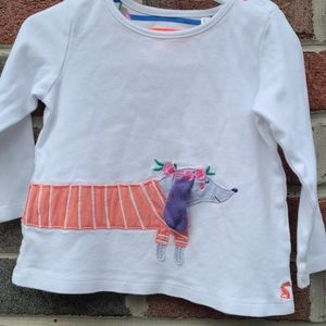 Joules Dachshund Top